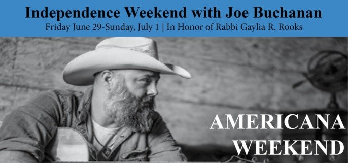 Joe Buchanan Independence Day Weekend
