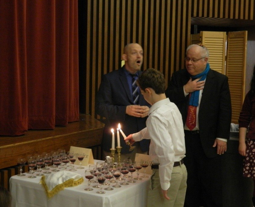 Family Shabbat 7th and 8th grade