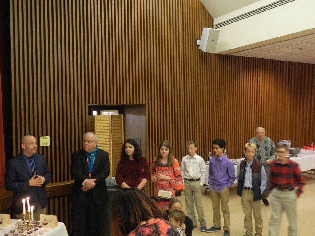 Family Shabbat 7th and 8th grade