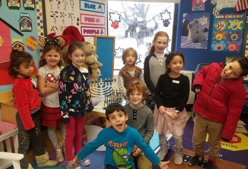 Hanukkah at Religious School