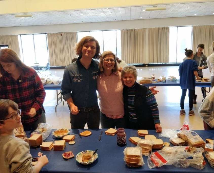 Sandwich Making at The Temple!