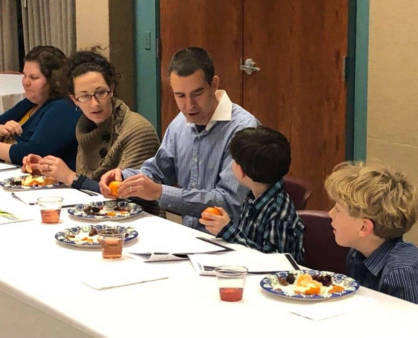 Tu B'Shvat Seder Celebrating Trees