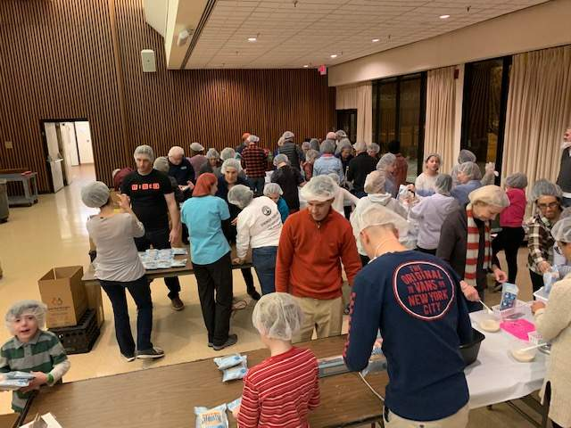 MLK Mitzvah Day packed over 11,000 meals