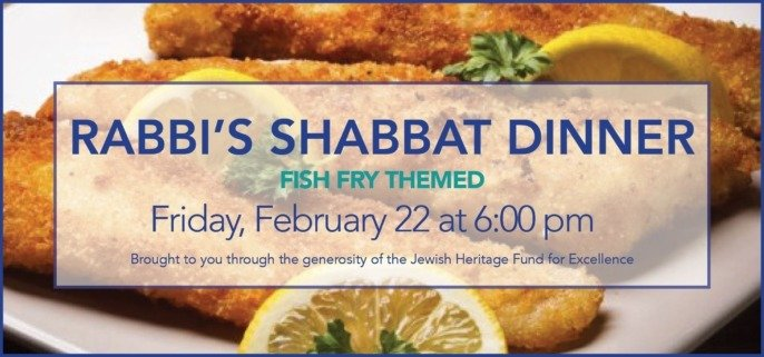 Rabbis' Shabbat Dinner