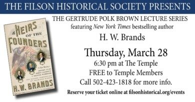 The Gertrude Polk Brown Lecture Series - Heirs of the Founders: The Epic Rivalry of Henry Clay, John CalHoun and Daniel Webster