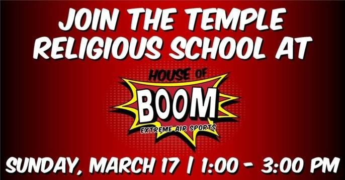 House of Boom with Religious School