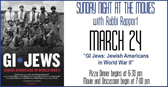 GI Jews Sunday Night at the Movies