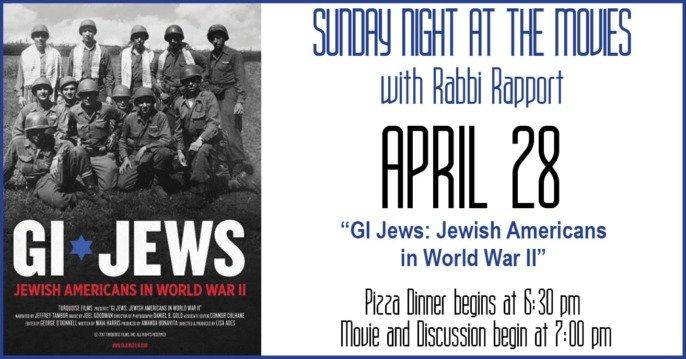 GI Jews with Rabbi Rapport