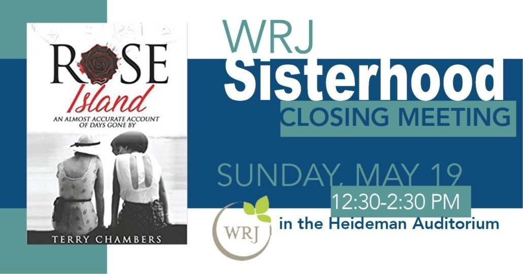 WRJ/Sisterhood Closing Meeting