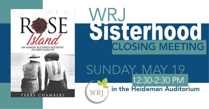 WRJ/Sisterhood Closing Meeting