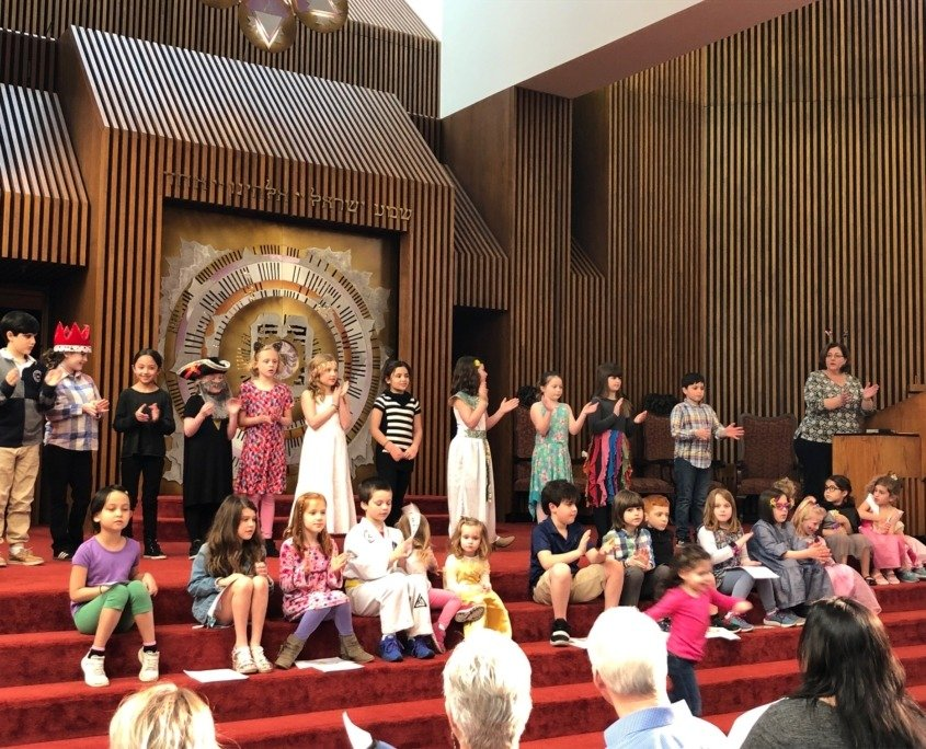 Purim Party at The Temple