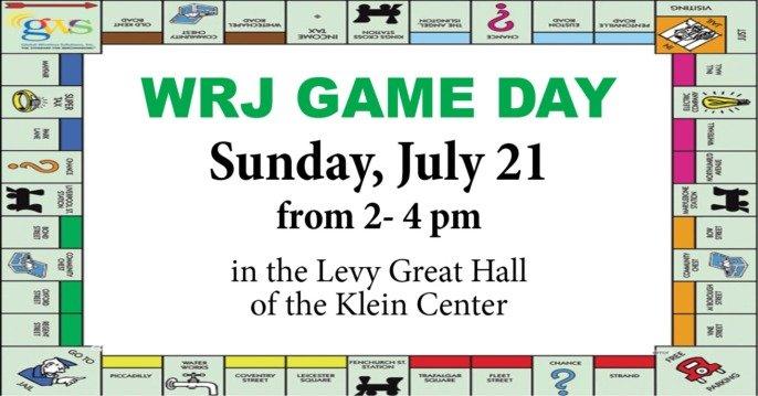 WRJ/Sisterhood Game Day
