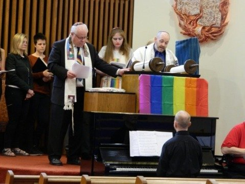 Pride Shabbat at The Temple