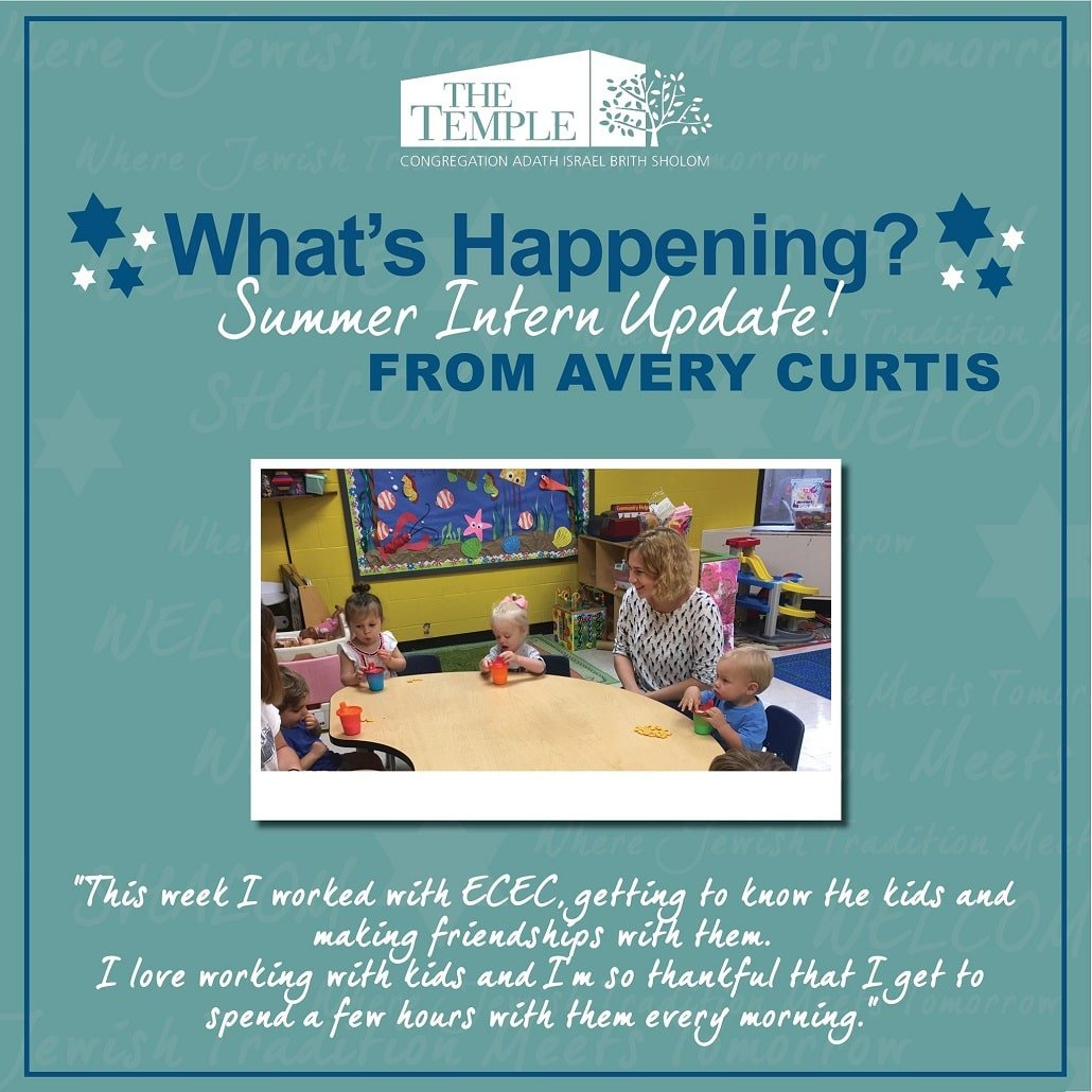 Checkout Summer Intern Update - ECEC from Avery Curtis!